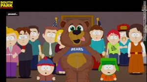 South Park shows Muhammad as a bear