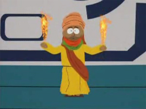 Muhammad on South Park