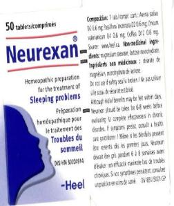Neurexan - homeopathic sugar pills